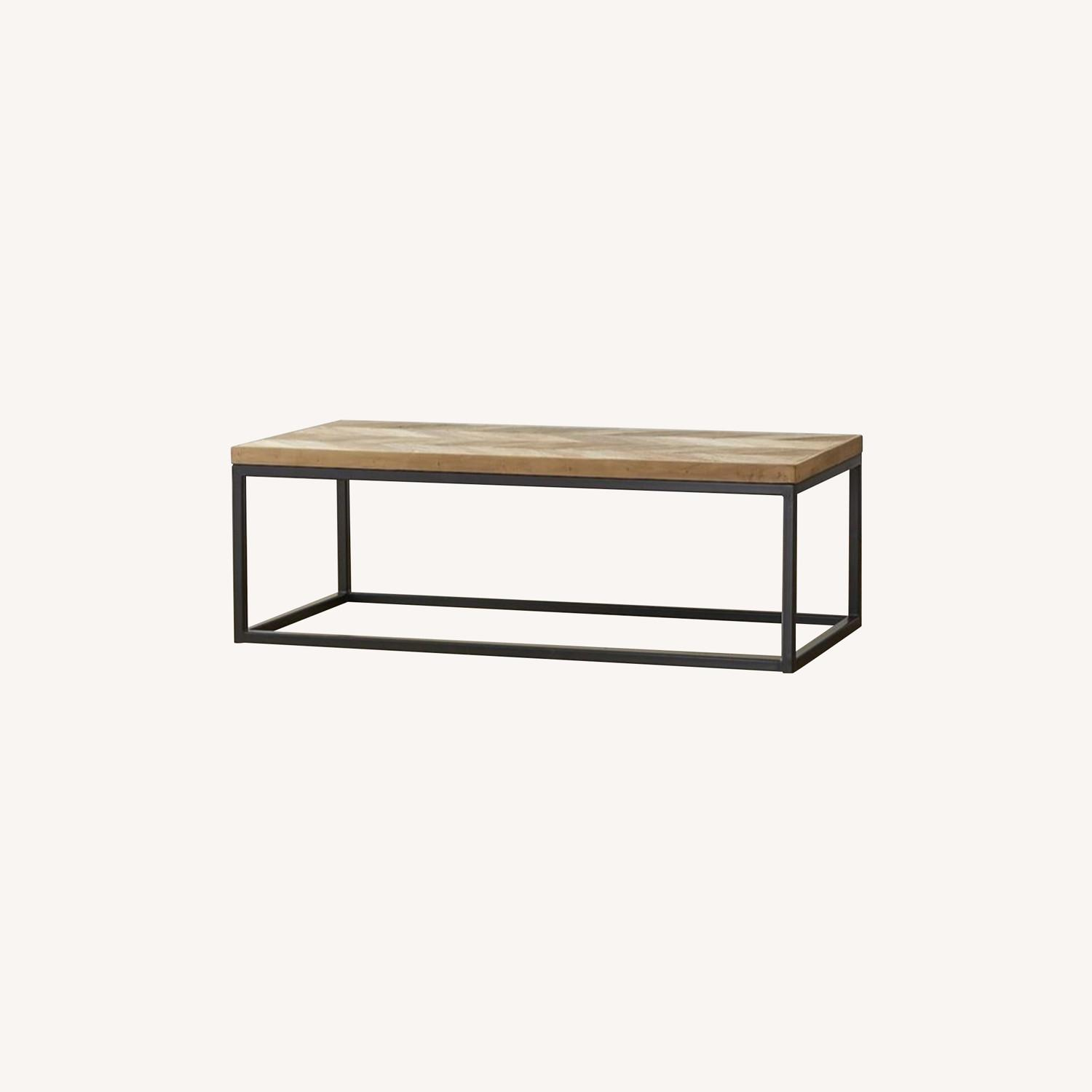 Crate & Barrel Mid Century Modern Coffee Table - image-0
