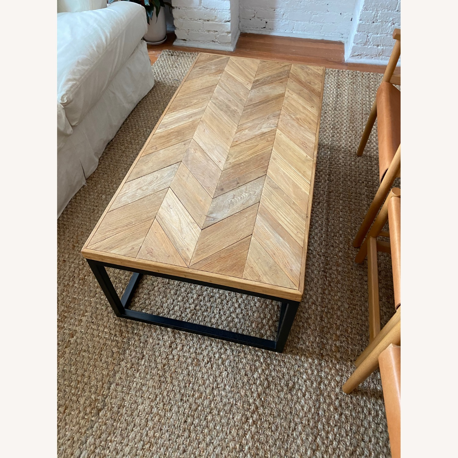 Crate & Barrel Mid Century Modern Coffee Table - image-5