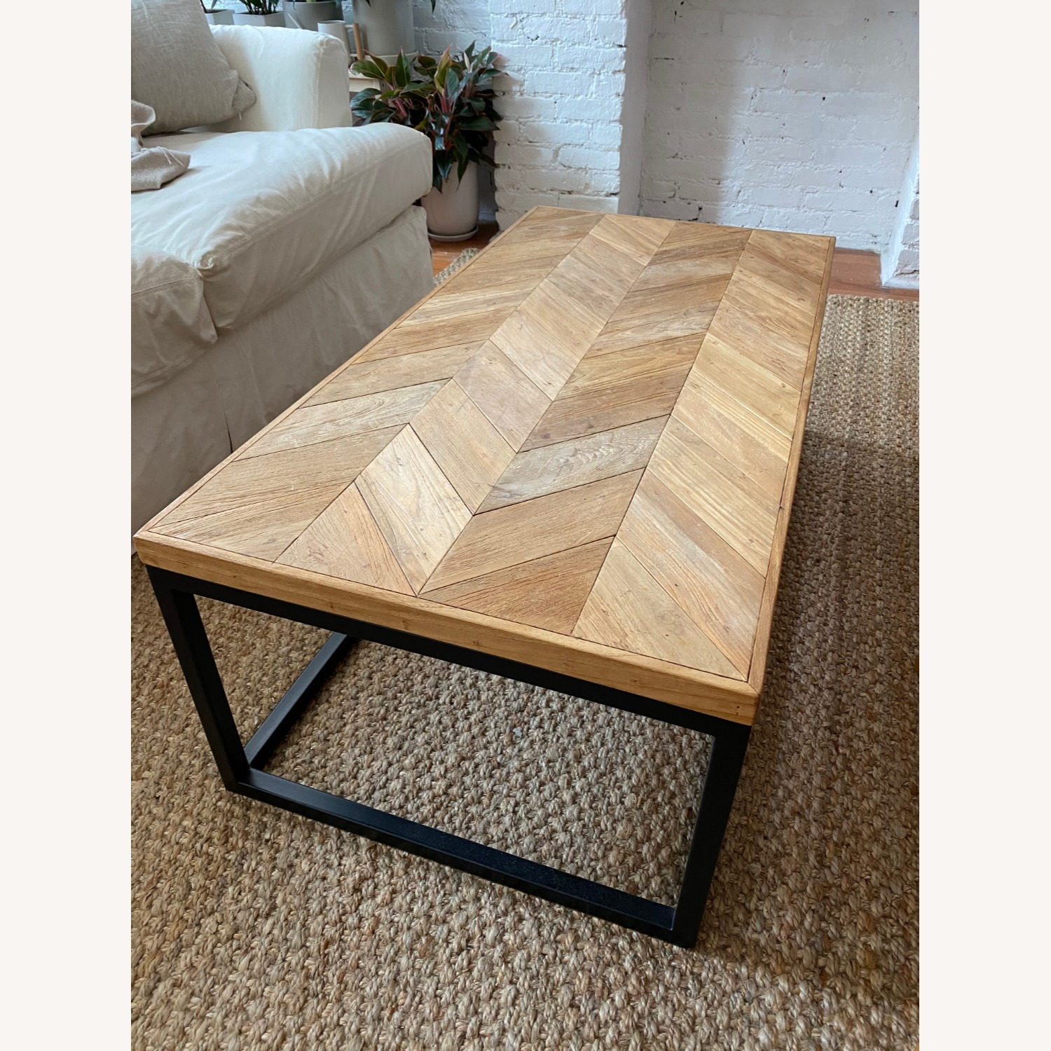 Crate & Barrel Mid Century Modern Coffee Table - image-1