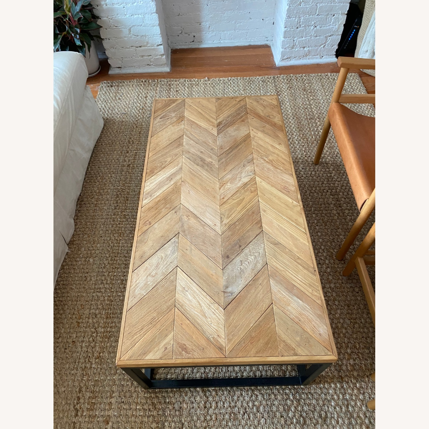 Crate & Barrel Mid Century Modern Coffee Table - image-3