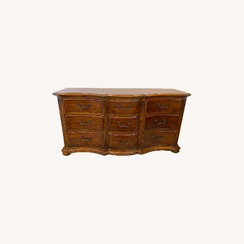 Used Ethan Allen 9-Drawer Dresser Tuscany Siena for sale on AptDeco
