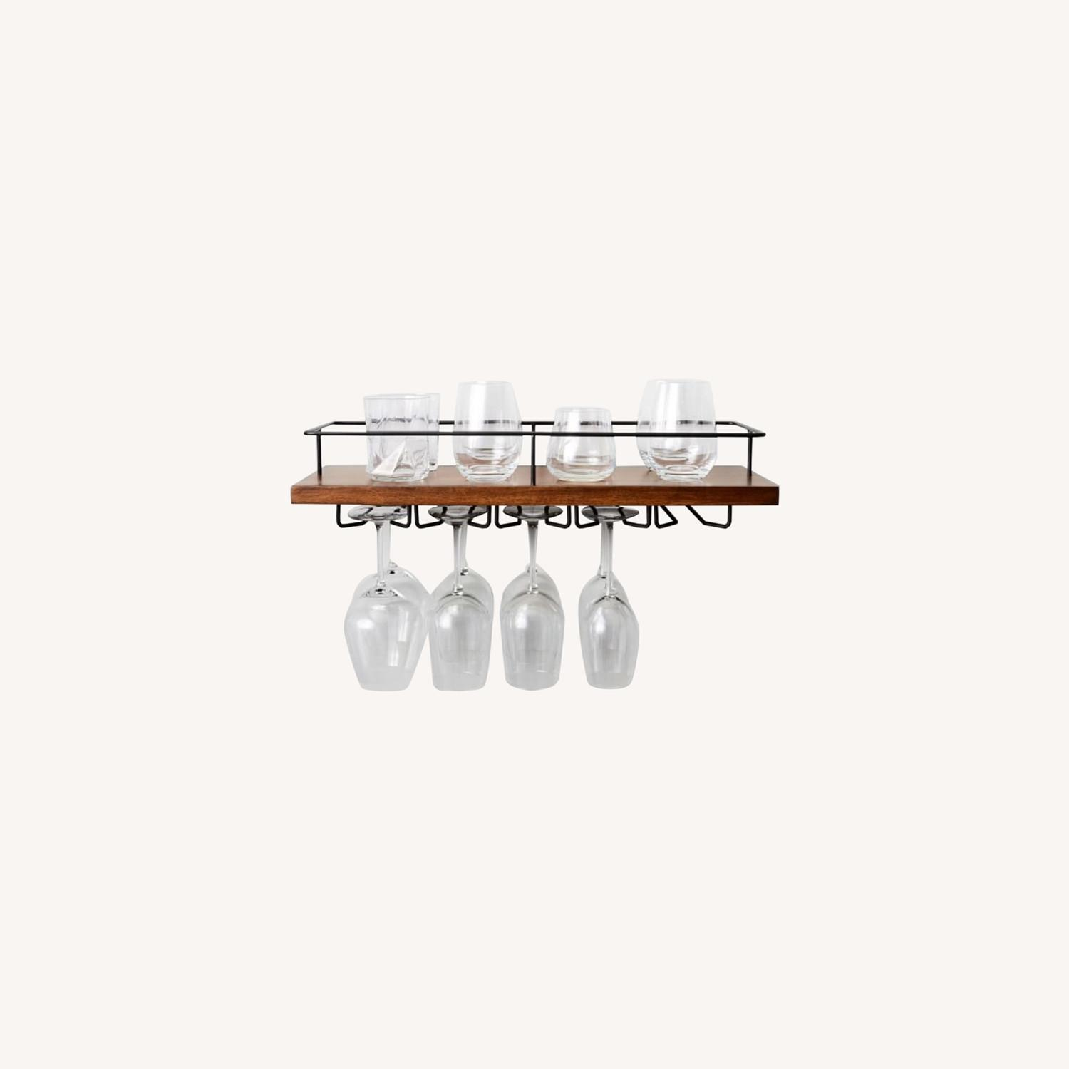 West Elm Outline Wine Glass Shelf - image-7