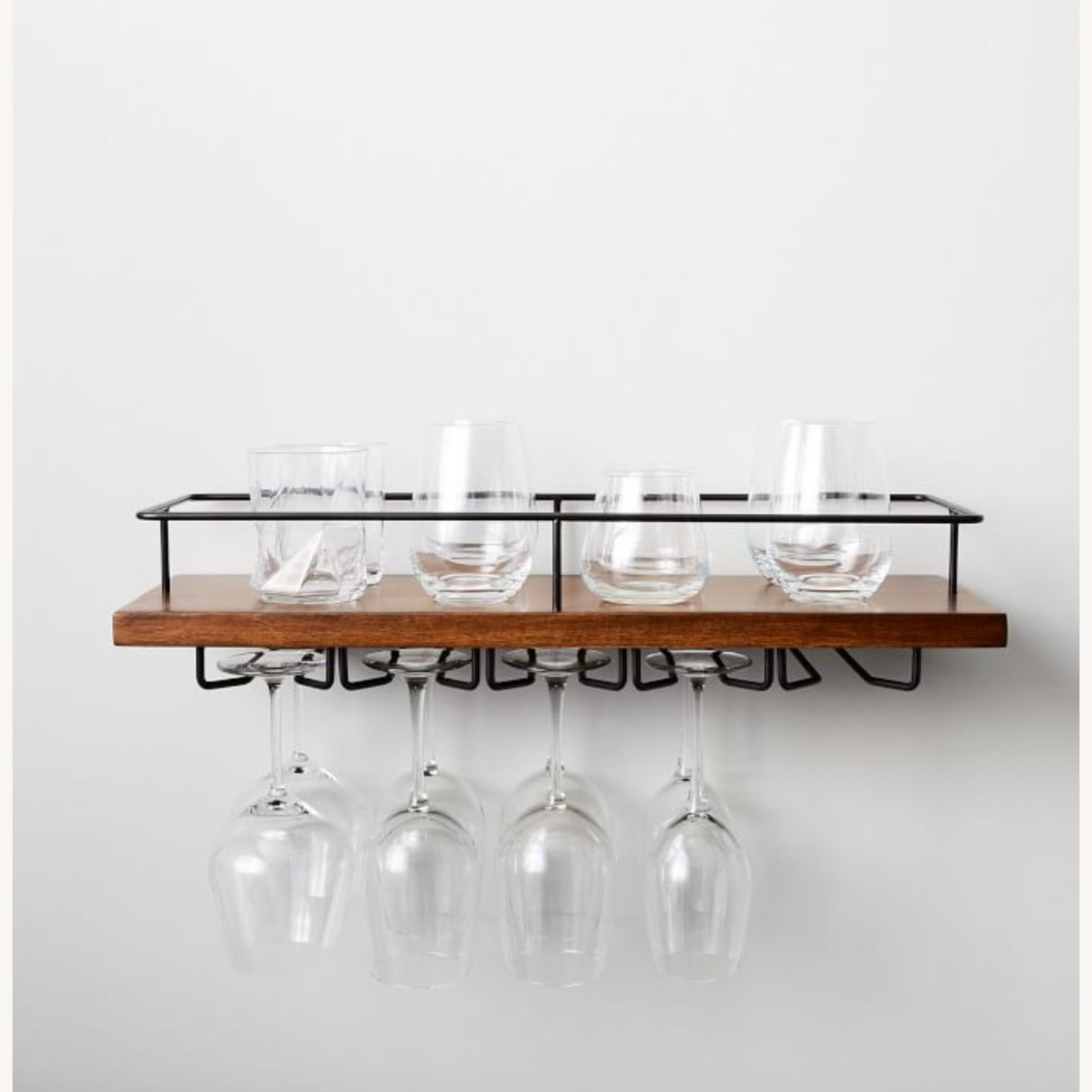 West Elm Outline Wine Glass Shelf - image-0