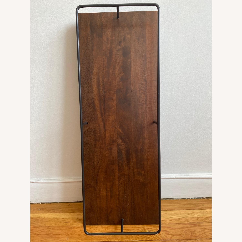 West Elm Outline Wine Glass Shelf - image-1