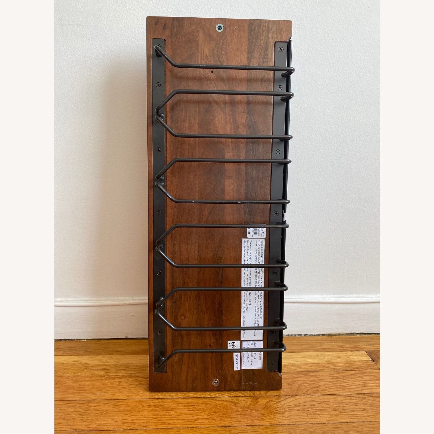 West Elm Outline Wine Glass Shelf - image-3