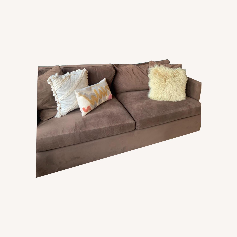 Crate & Barrel Lounge II Sofa - image-0