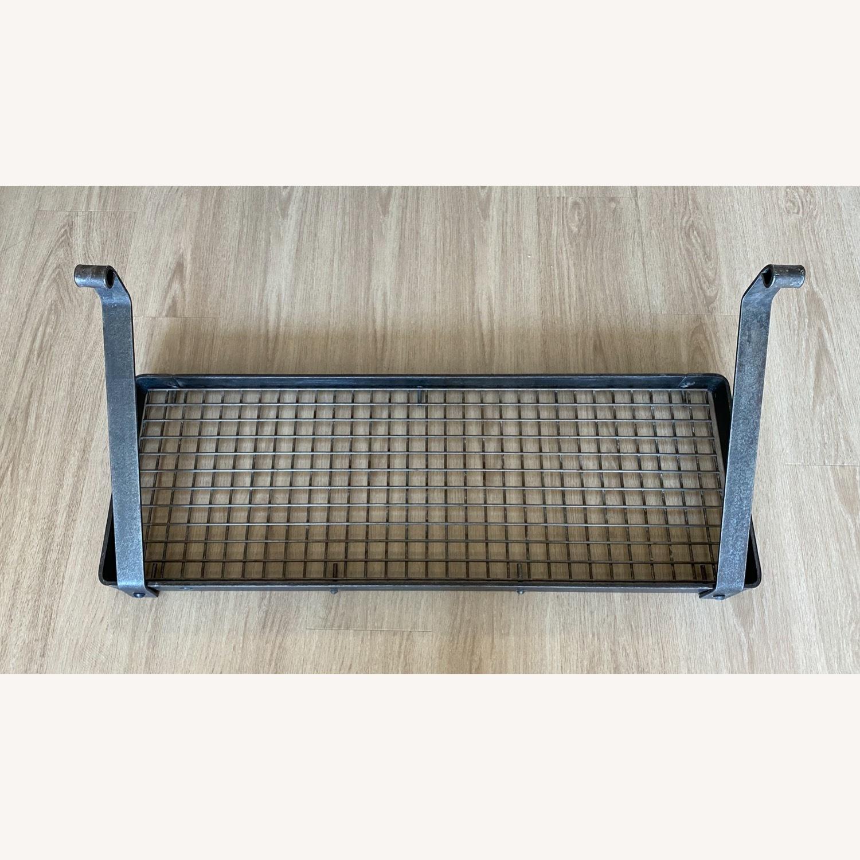 Williams Sonoma Steel Wall-Mounted Shelf Pot Rack - image-4