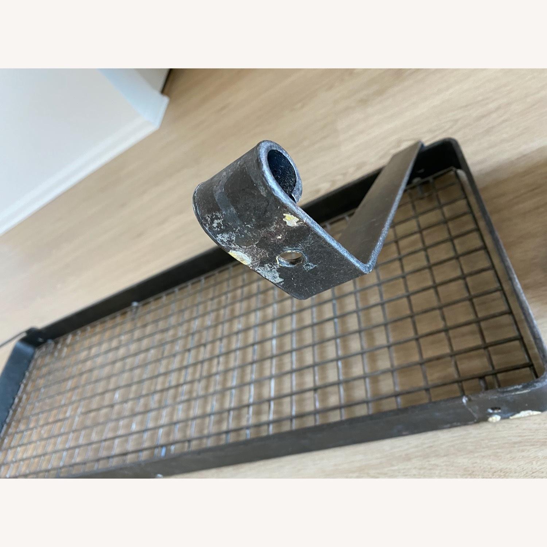 Williams Sonoma Steel Wall-Mounted Shelf Pot Rack - image-7