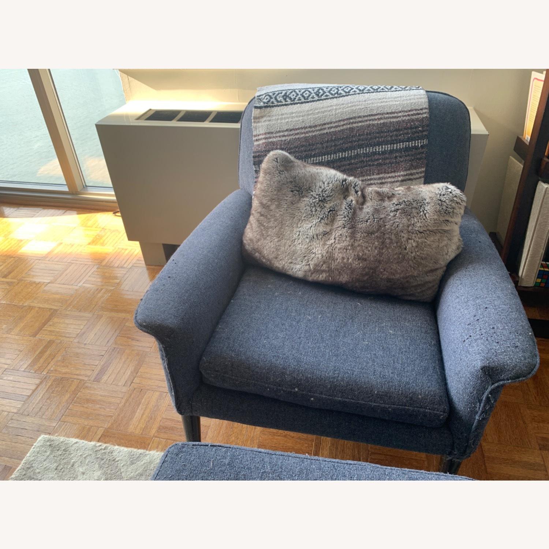 West Elm Anders Fabric Armchair - image-1