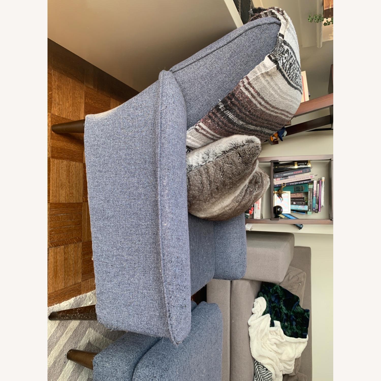 West Elm Anders Fabric Armchair - image-2