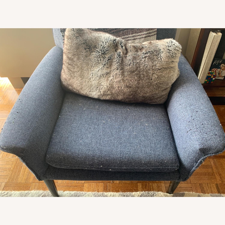 West Elm Anders Fabric Armchair - image-3