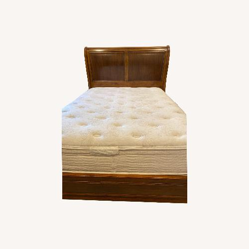 Used Ethan Allen Queen Sleigh Bed for sale on AptDeco