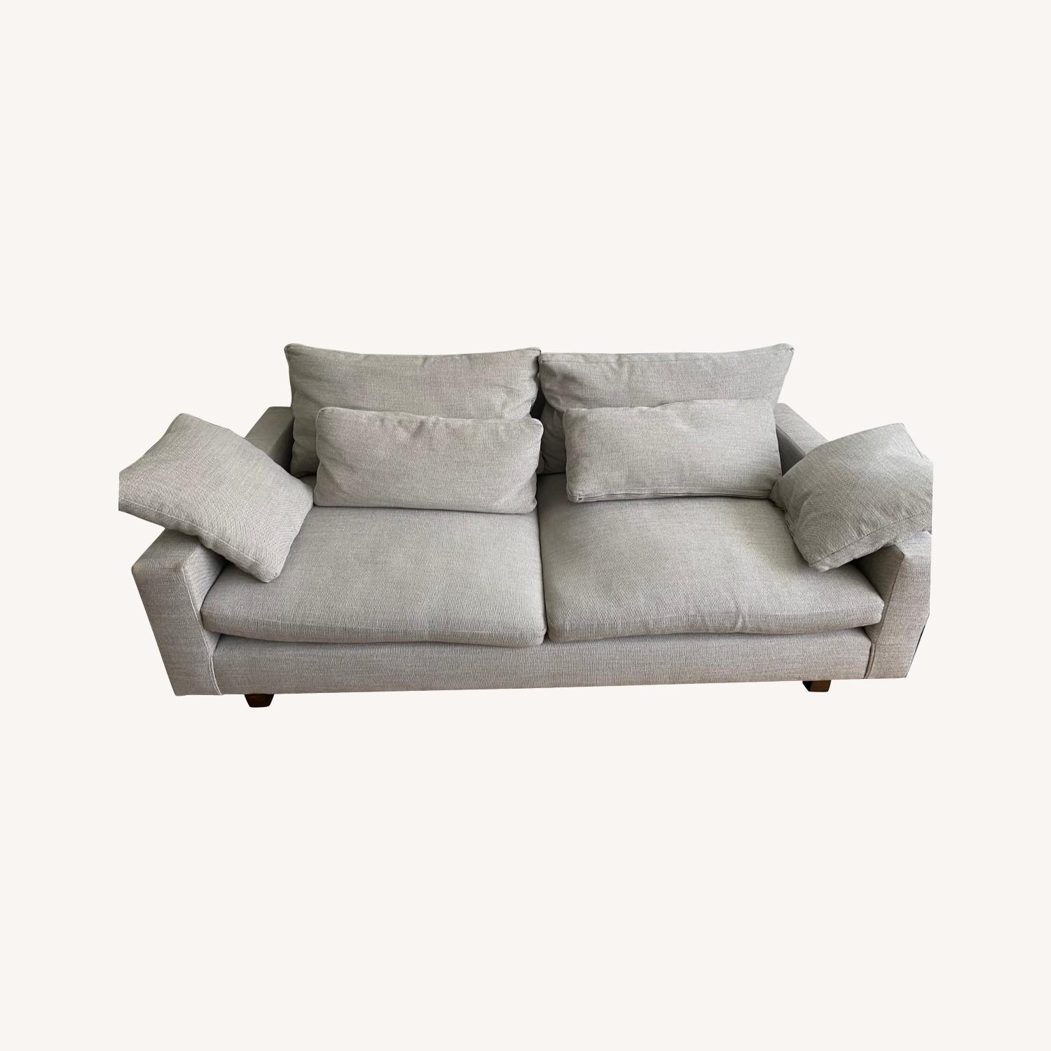 West Elm 2 Seat Couch - image-0