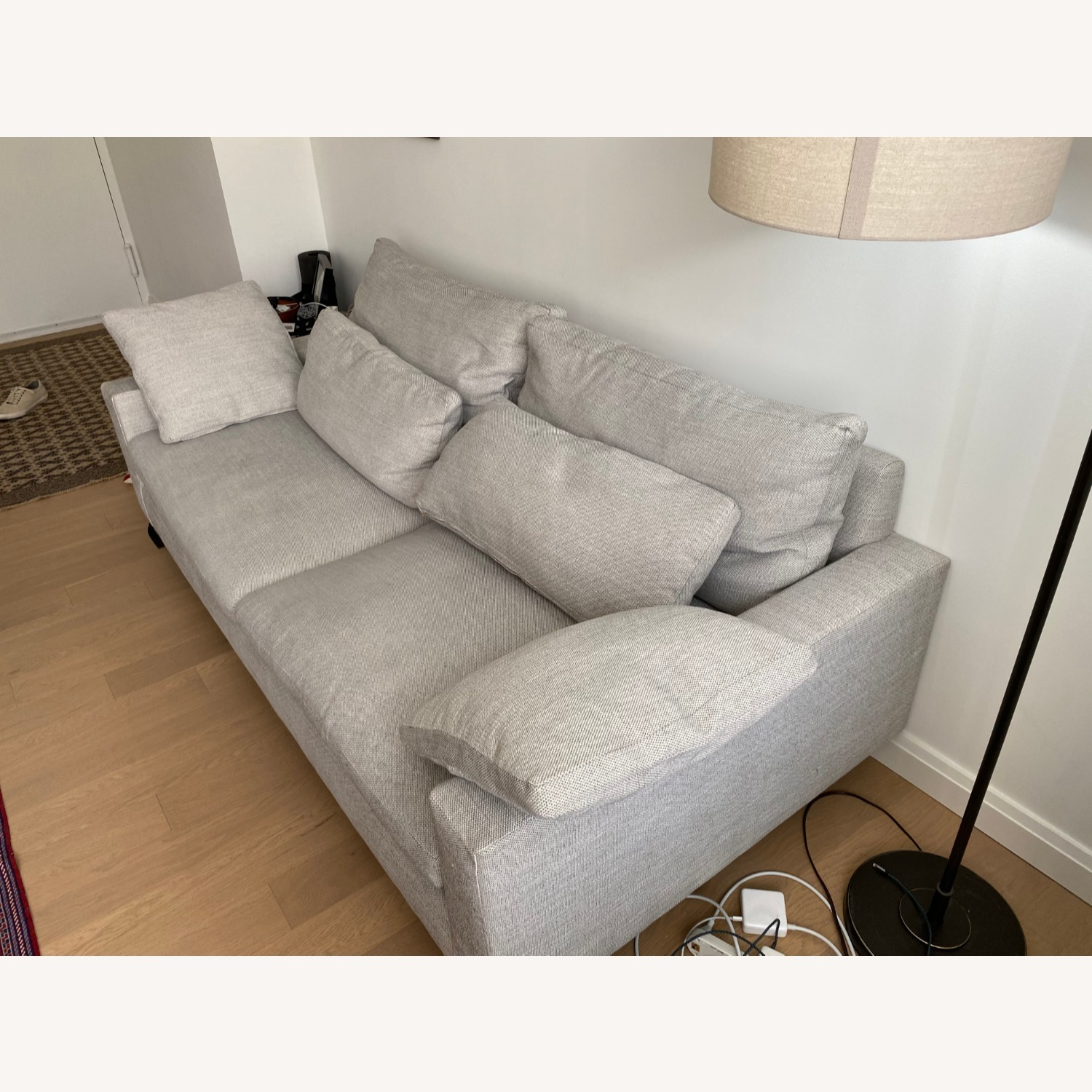 West Elm 2 Seat Couch - image-2
