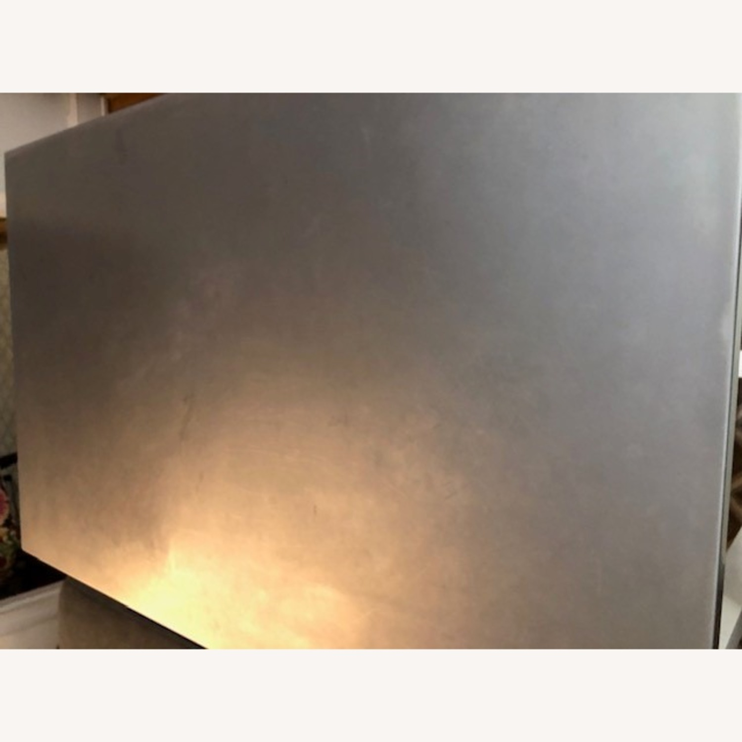 Crate & Barrel Stainless Steel High Top Table - image-3