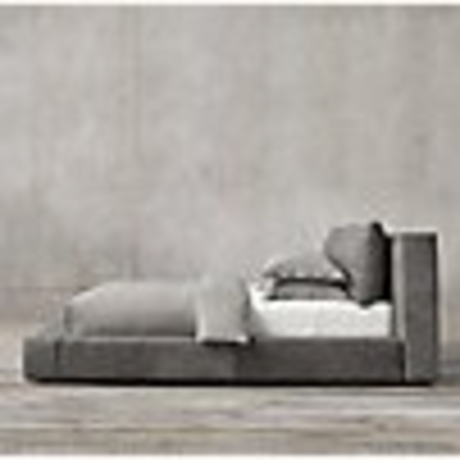 Restoration Hardware - Leather Platform Bed - image-8