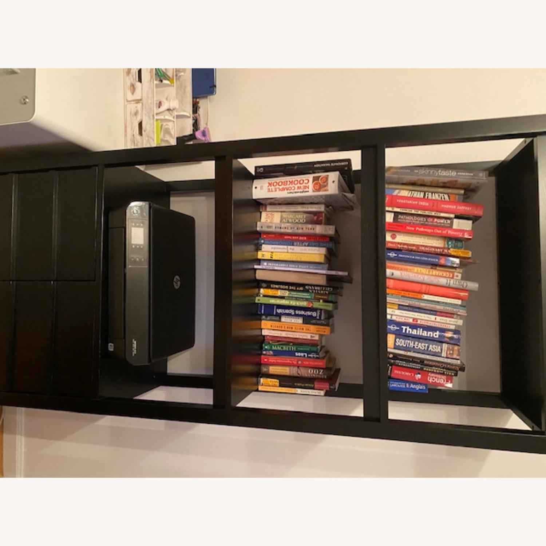 Crate & Barrel Spotlight Ebony Bookcase - image-5