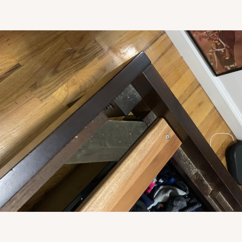 West Elm Full Wooden Bed Frame - image-3