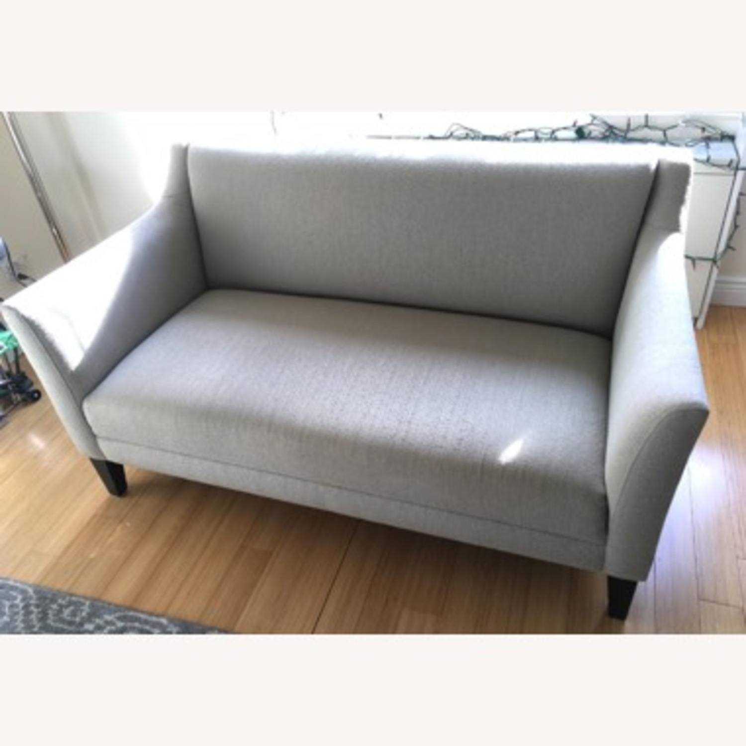 Crate & Barrel Loveseat - image-2