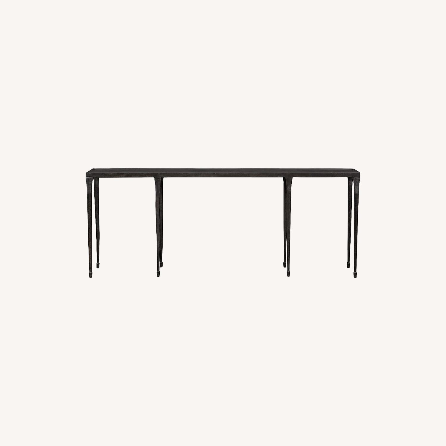 Crate & Barrel Silviano Long Console Table - image-0