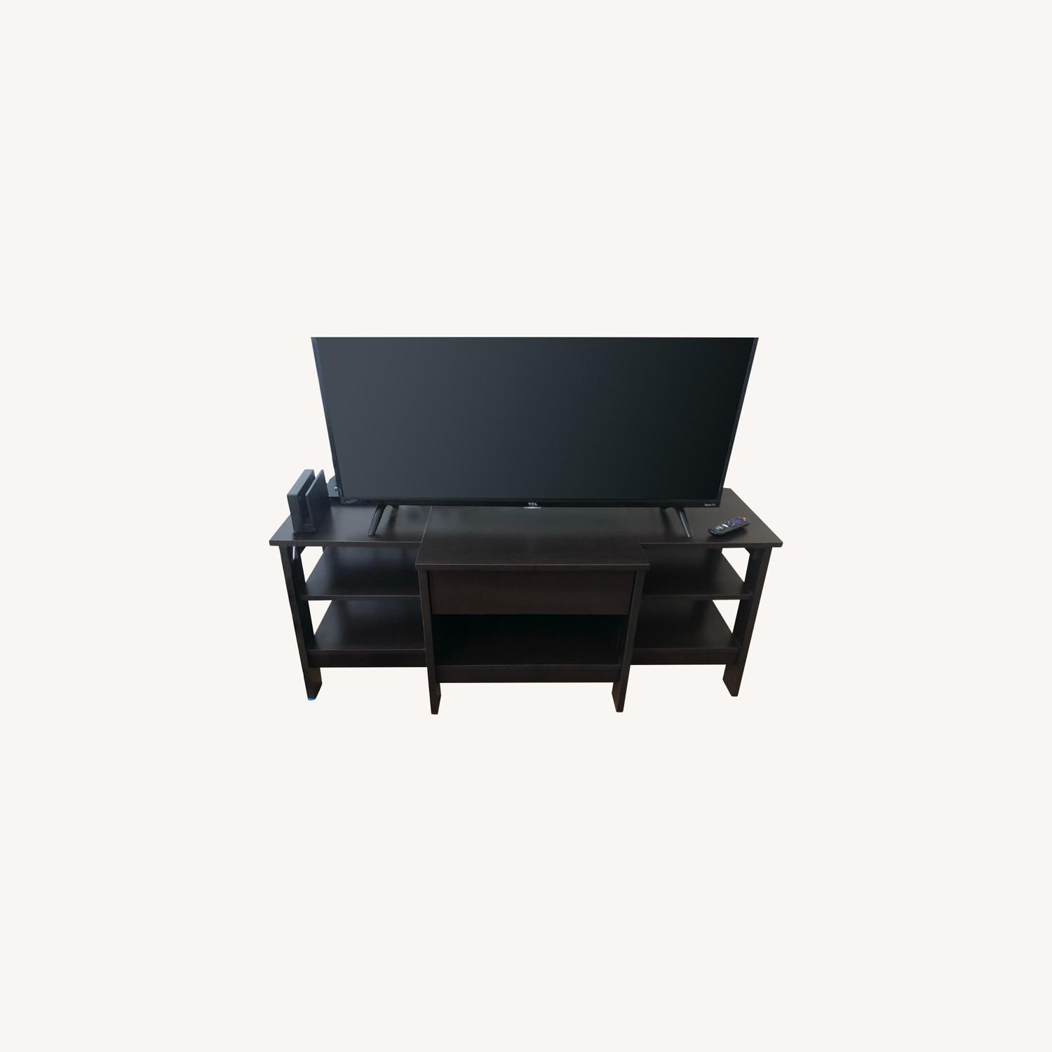 Target Deep Brown Entertainment Unit - image-0
