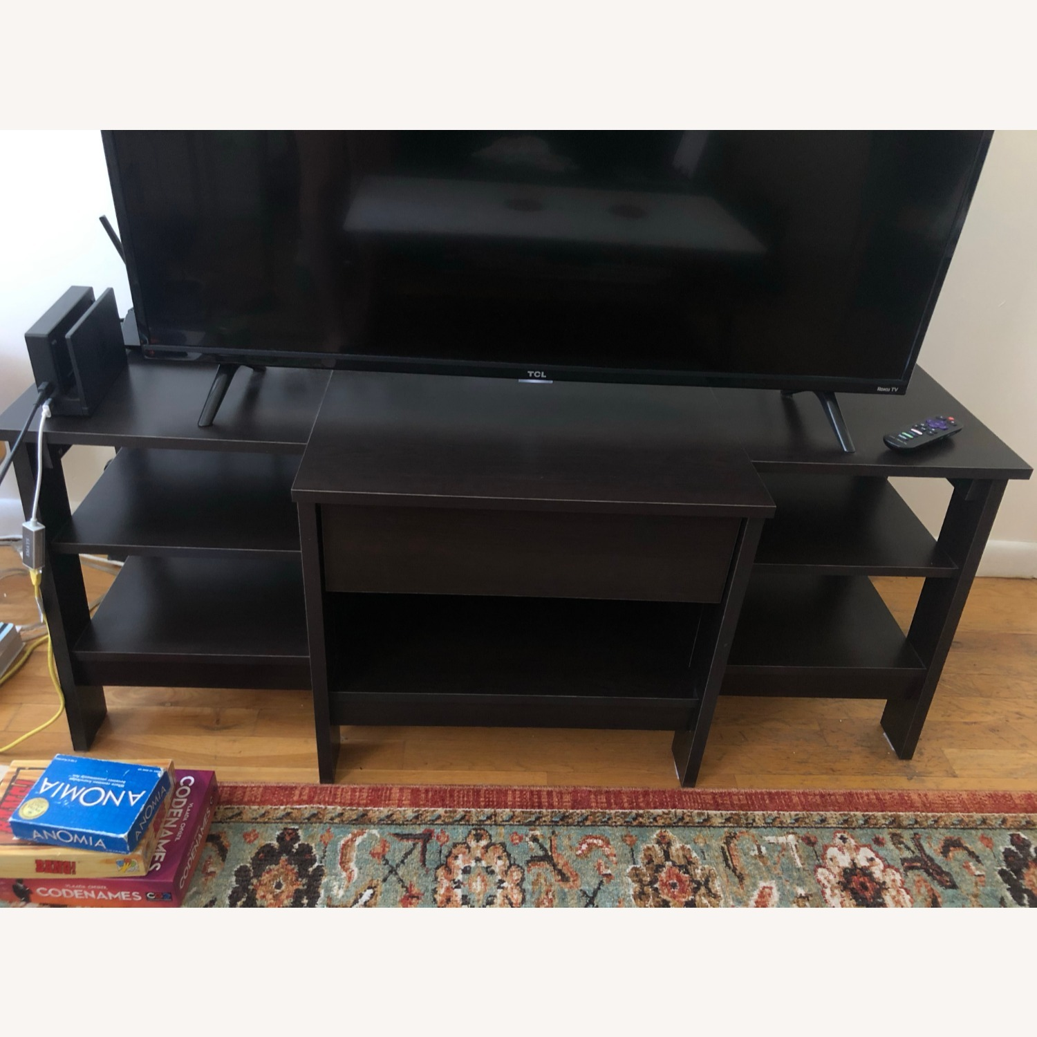 Target Deep Brown Entertainment Unit - image-1