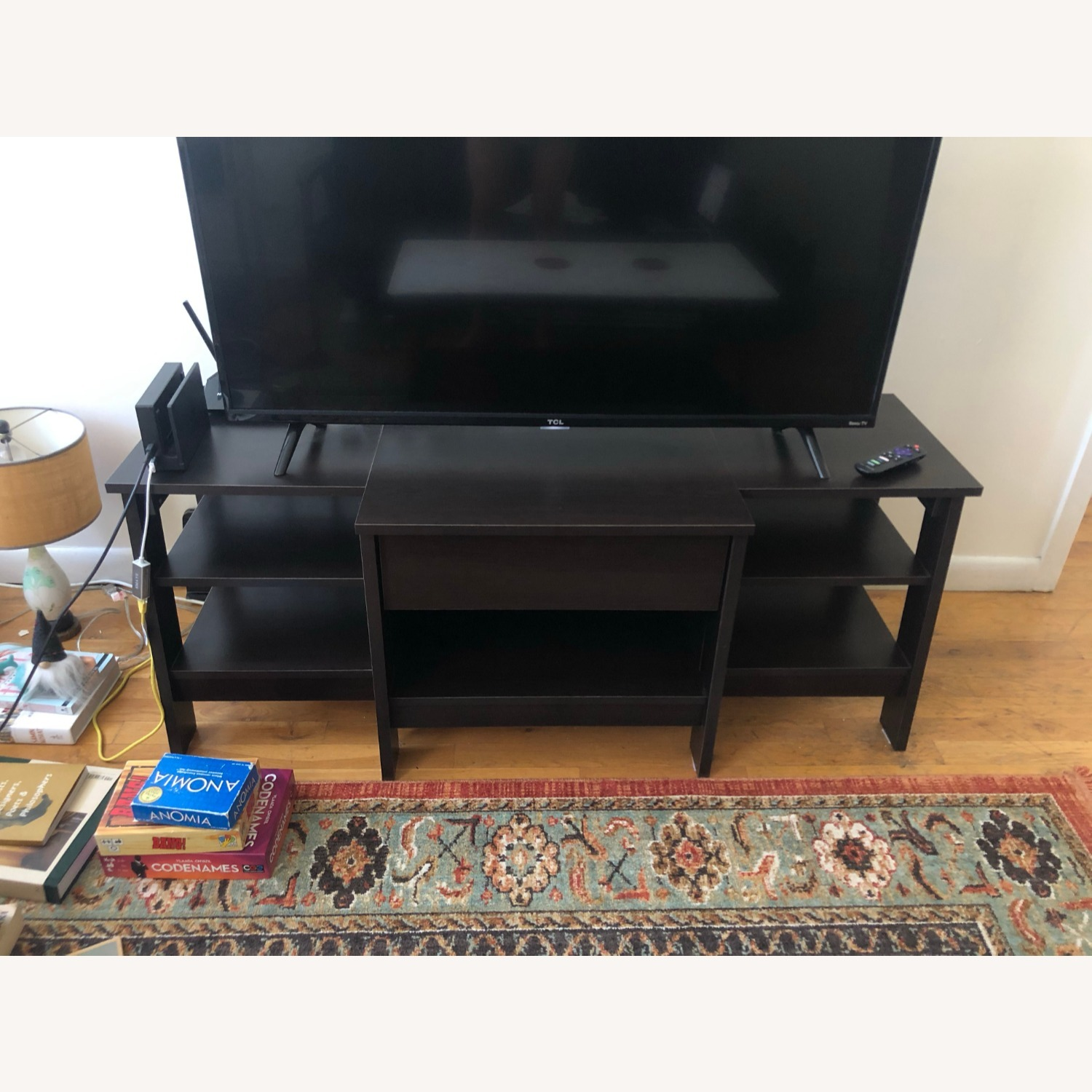 Target Deep Brown Entertainment Unit - image-2