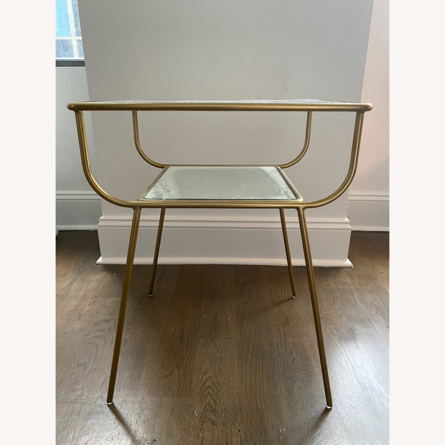 West Elm Curved Terrace Nightstand - image-1