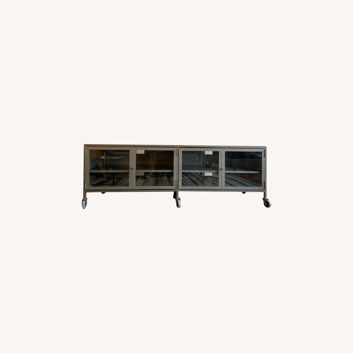 West Elm Industrial Media Console - image-0