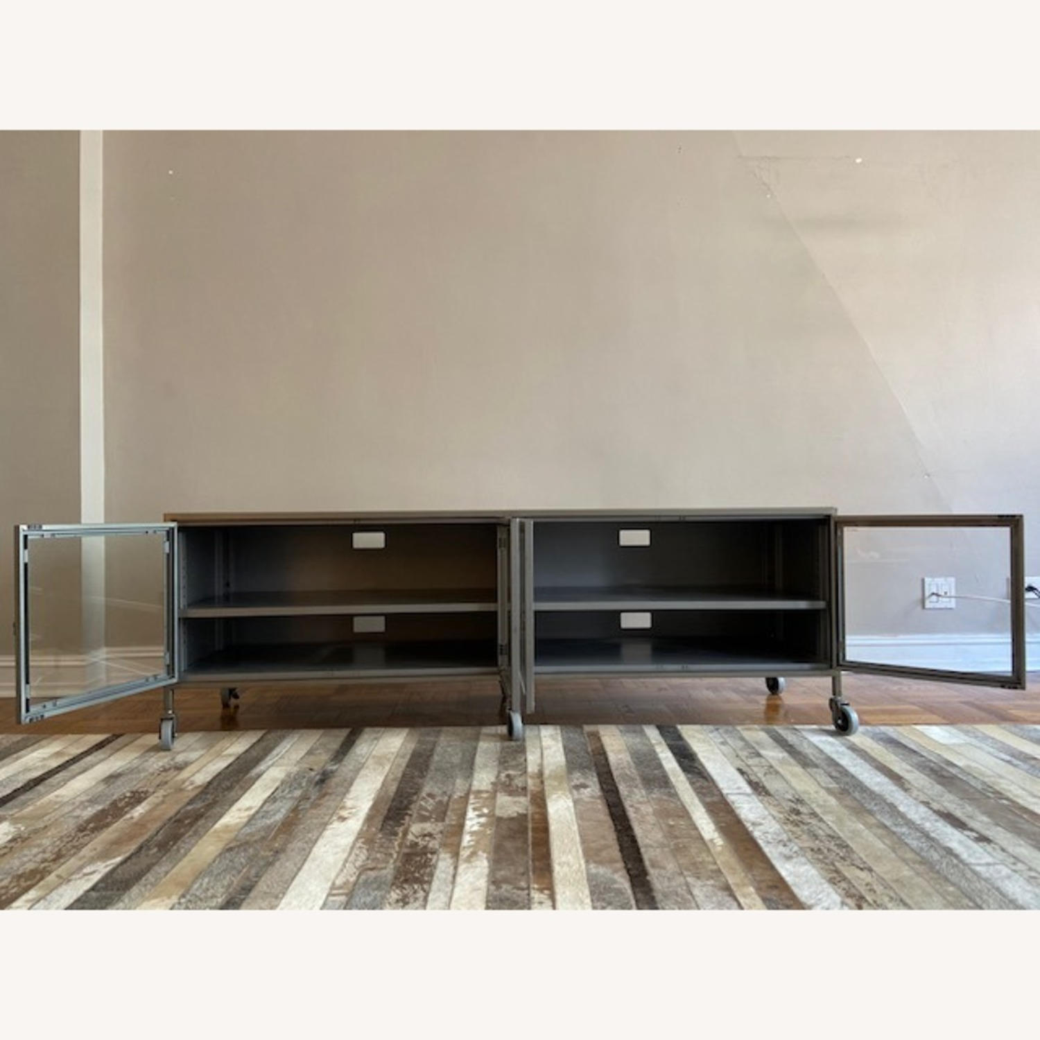 West Elm Industrial Media Console - image-1
