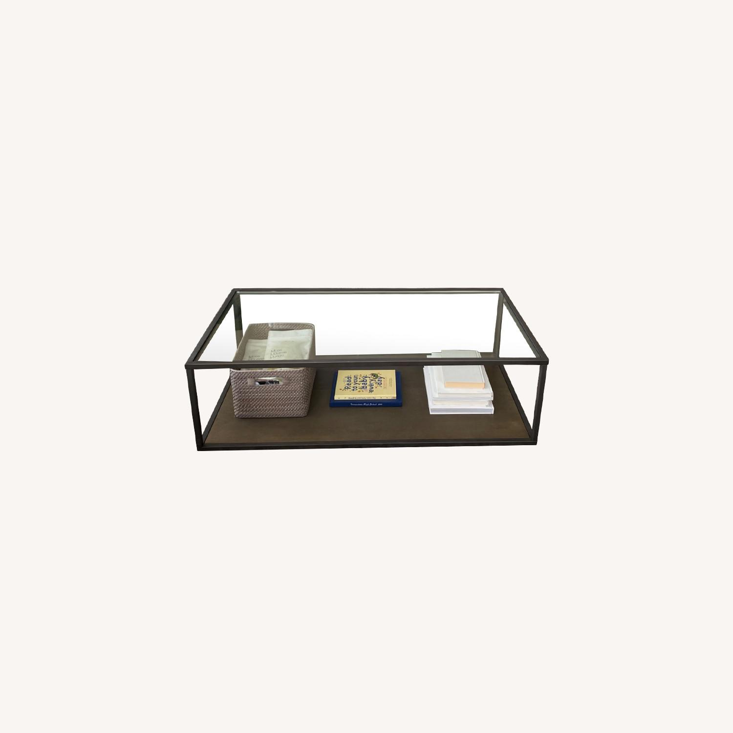 Crate & Barrel Switch Coffee Tables (Set of 2) - image-0