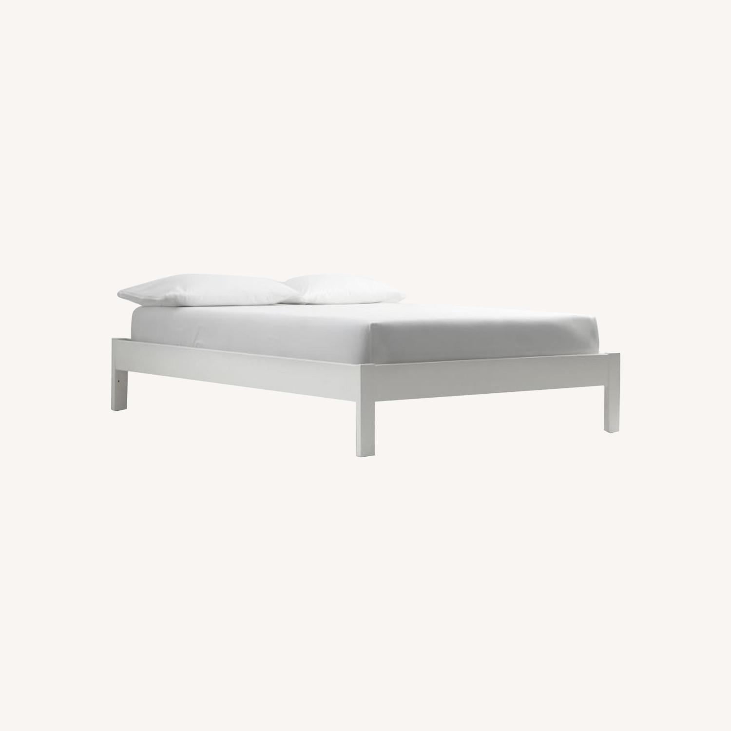 West Elm Simple Bed Frame - image-0