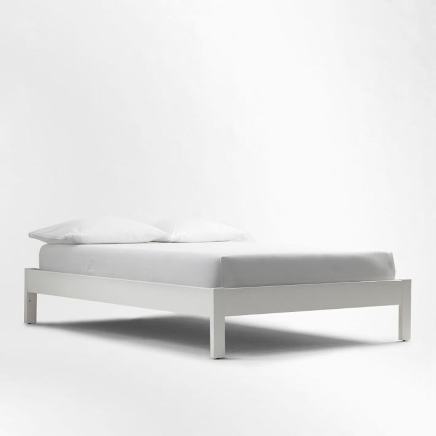 West Elm Simple Bed Frame - image-1