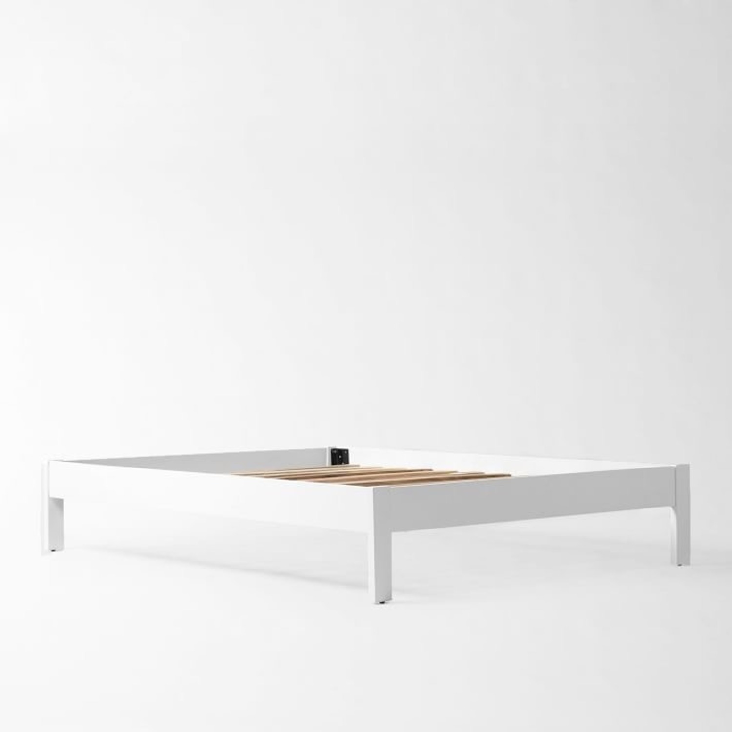 West Elm Simple Bed Frame - image-3