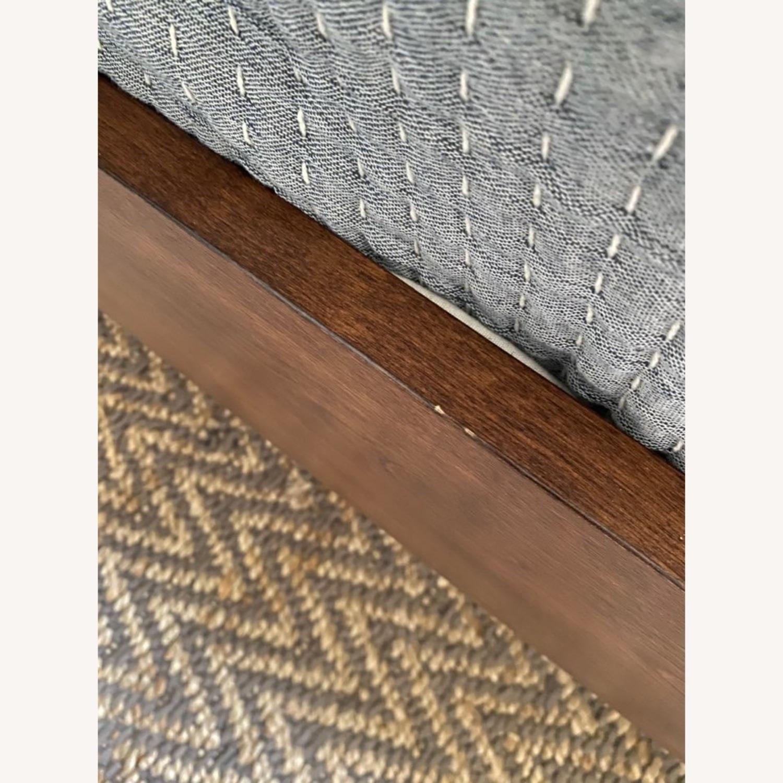 West Elm Modern Show Wood Bed, Queen - image-6