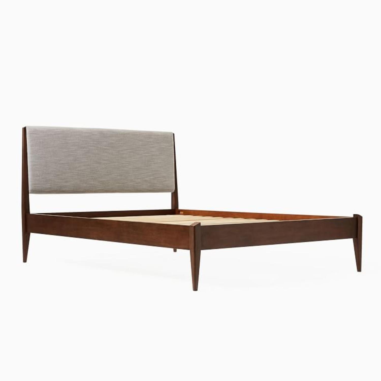West Elm Modern Show Wood Bed, Queen - image-3