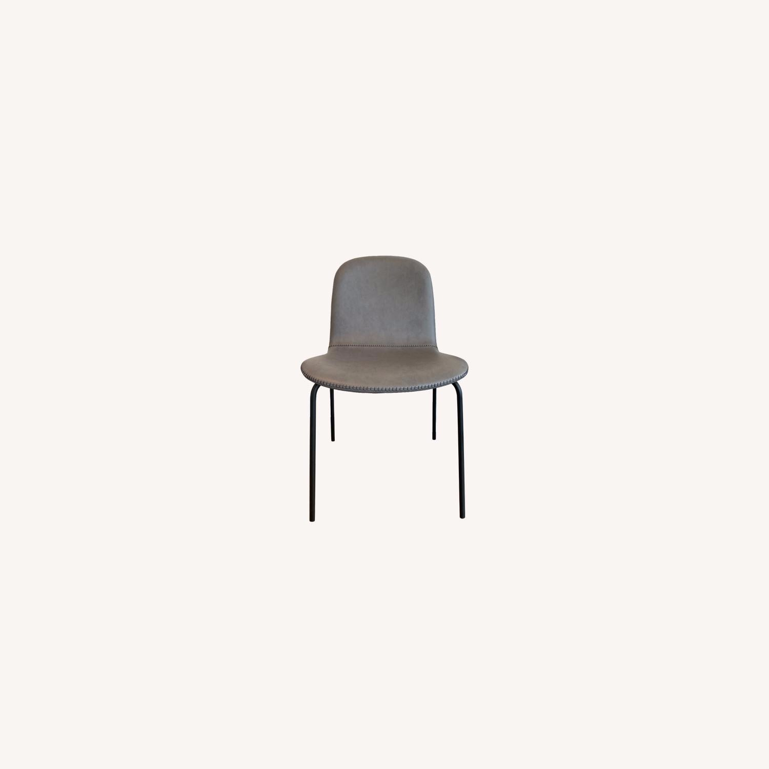 West Elm Gray Dining Chair - image-0