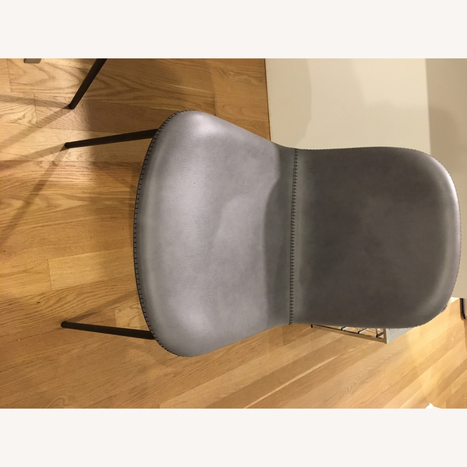 West Elm Gray Dining Chair - image-8