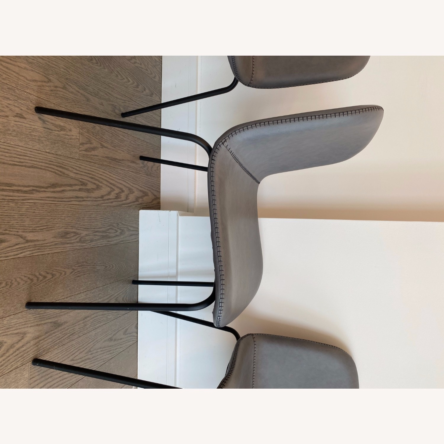 West Elm Gray Dining Chair - image-6