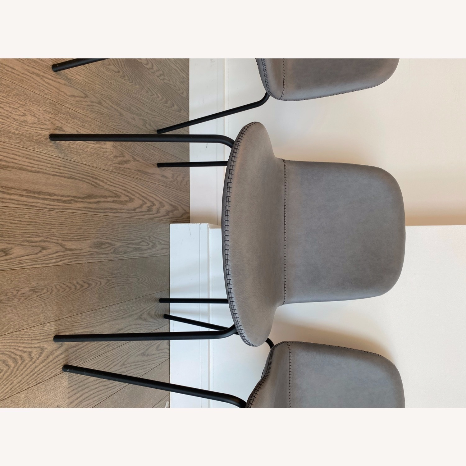 West Elm Gray Dining Chair - image-7