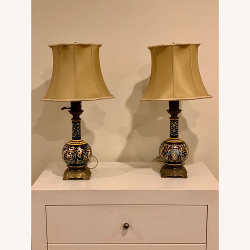 Used Antique Ceramic Decorative Lamps for sale on AptDeco