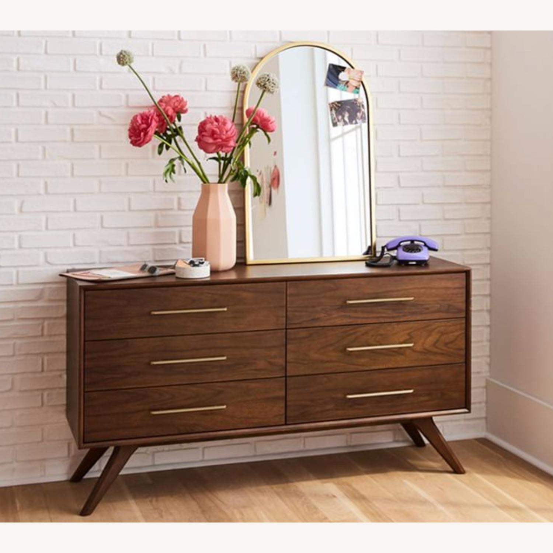 West Elm Mid Century Dresser - image-1