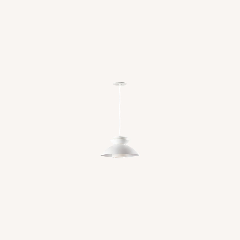 Wayfair Corrigan Studio Budde 1 Single Dome Pendant - image-0