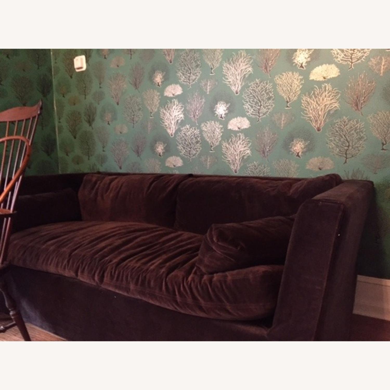 Restoration Hardware Belgian Shelter sleeper sofa - image-3