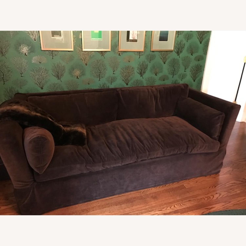 Restoration Hardware Belgian Shelter sleeper sofa - image-1