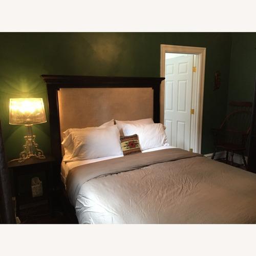 Used Restoration Hardware St. James Upholstered Bed for sale on AptDeco