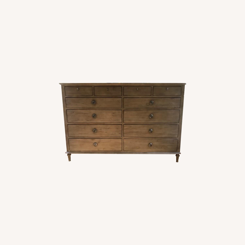 Restoration Hardware Maison 12-Drawer Dresser - image-0