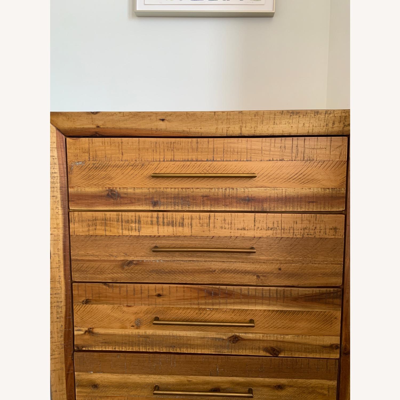West Elm Alexa Reclaimed Wood 5-Drawer Dresser - image-1