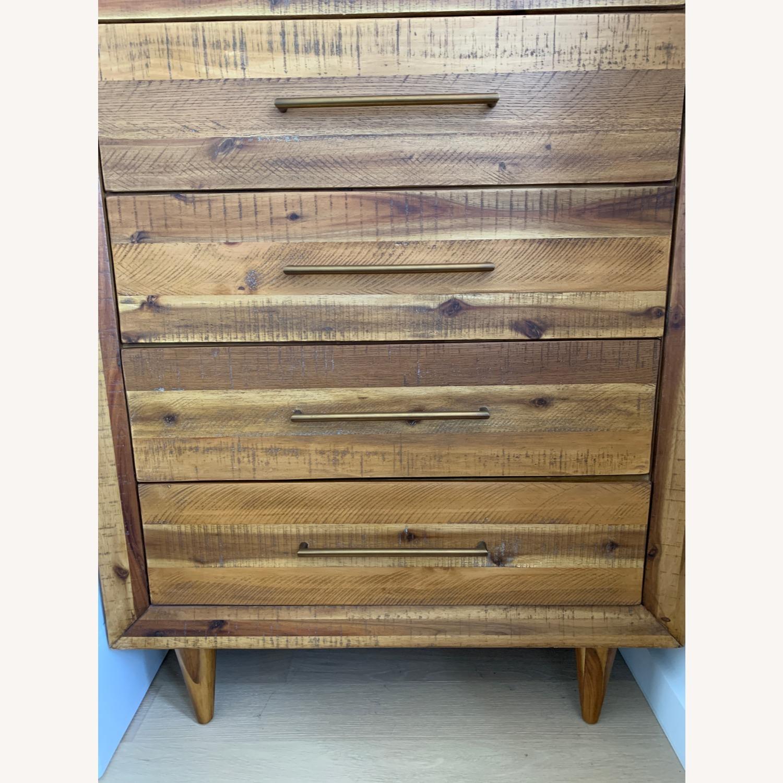 West Elm Alexa Reclaimed Wood 5-Drawer Dresser - image-2