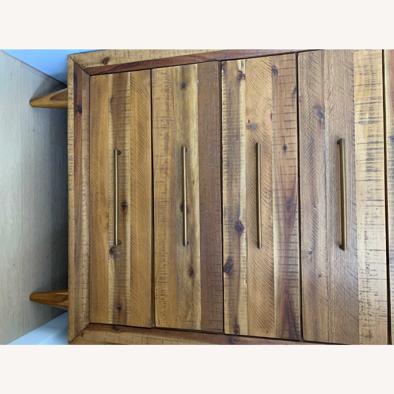 West Elm Alexa Reclaimed Wood 5-Drawer Dresser - image-4